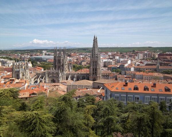 Burgos Spain Skyline